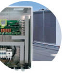Electronic controllers in civil and industrial applications for chiller units with capacities from 5 kW to over 50 kW
