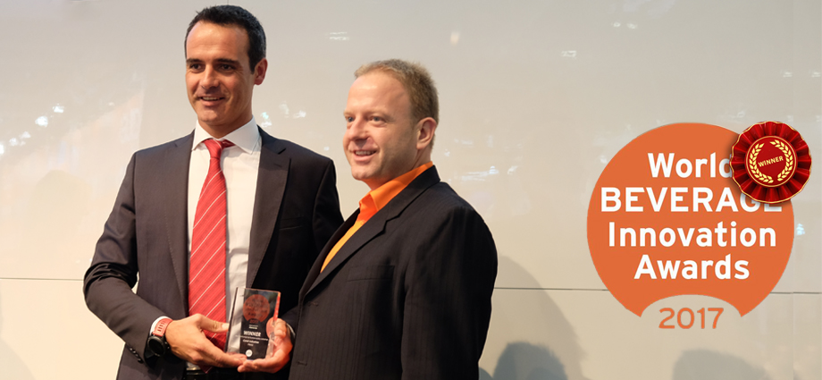 CAREL winner at the World Beverage Innovation
