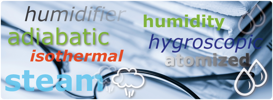Humidification important terms