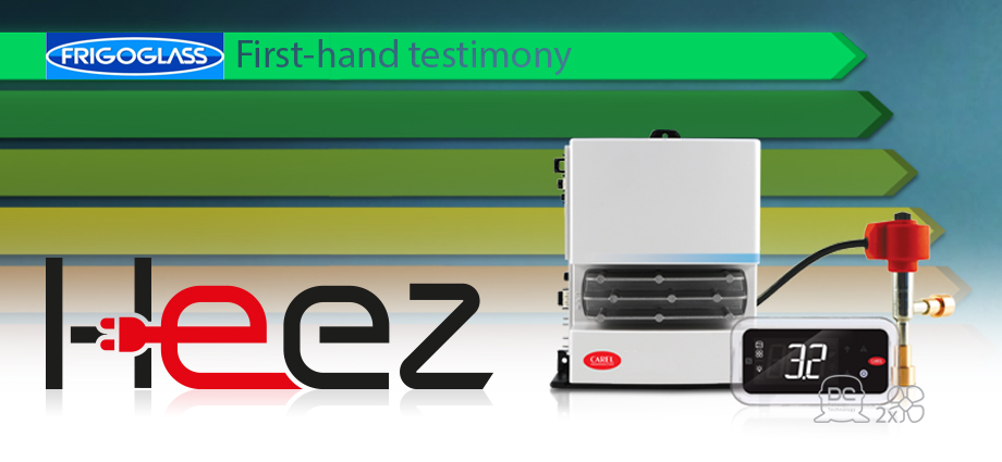 Heez helps to bring new life to open front beverage coolers