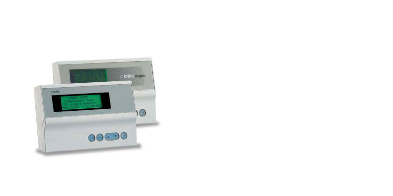 The pCO sistema series controllers features a wide and consolidated range of user interfaces