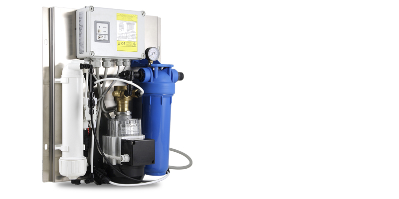 WTS Compact (Water Treatment System), CAREL reverse osmosis system for water demineralization